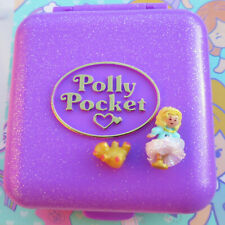 Mini Polly Pocket Partytime Surprise mit Buch Bär glitzer Kindergeburtstag NEU !