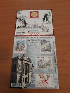 Francobolli Principato di Monaco -2010 - 2 foglietti