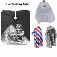 Waterproof Hair Cutting Cape Salon Haircut Hairdressing Gown Apron Barber Cloth