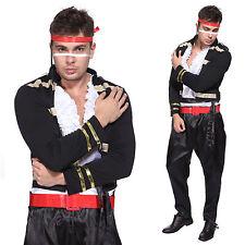 Komplett-Kostüme aus Polyester 1980er Herren-Thema