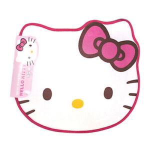 Sanrio Hello Kitty Face Memoryfoam Sponge Pink Mat Rug
