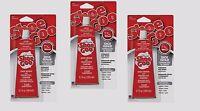 Set of 3 SHOE GOO Shoe Skate Repair Glue 3.7oz CLEAR Adhesive Protective Coating