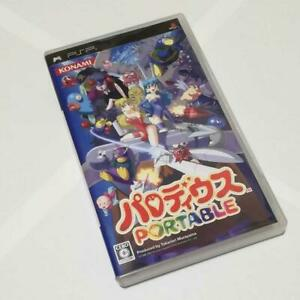 PSP Parodius Portable Shooting Game Sony PlayStation Portable Japan Import