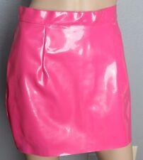 American Apparel Cali Sun And Fun Hot Pink Vinyl Barbie Skirt M