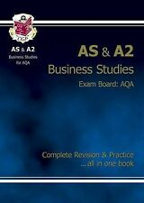 AS/A2 Level Business Studies AQA Complete Revision & Practice, Acceptable, Richa