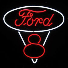 Ford V8 Neon Sign 5FRDV8 w/ FREE Shipping