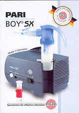 Pari Boy SX Inhalationsgerät - PZN 1084424 - Pari Top-Modell - neu&OVP v med. FH