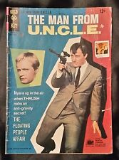 THE MAN FROM U.N.C.L.E. NO. 8 - GOLD KEY - SEPTEMBER 1966