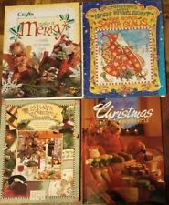 Lot Of 4 Christmas Crafts Books.