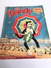 Vtg Comic Dandy Summer Special comic 1970 Corky The Cat Desperate Dan Rare Early
