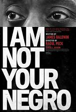I Am Not Your Negro Movie Poster (24x36) - Samuel L. Jackson, James Baldwin v1