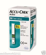 ACCU CHEK Active 50 Test Strips (50 Sheets)  Tracking LOWEST PRICE