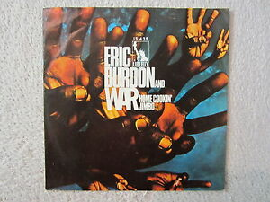 SINGLE  / ERIC BURDON AND WAR / 1970 / RARITÄT /  FUNK / LIBERTY REC / DE PRESS