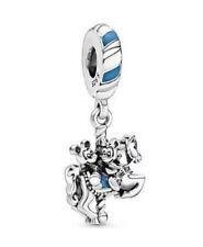 💎 🎀 plata esterlina 925 Disney Mickey & Minnie caballo de carrusel encanto y Bolsa