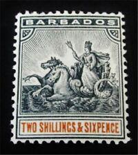 nystamps British Barbados Stamp # 79 Mint Og H $55 J15y2086