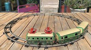 Ancien Train Charles Rossignol Locomotive SNCF CR 161 - dans l'état