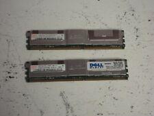 Hynix 8GB (4GB x 2) HYMP151F72CP4N3-Y5 AC-C PC2-5300F ECC Server RAM Memory