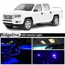 19x Blue LED Light Interior Package Kit 2006-2015 Honda Ridgeline
