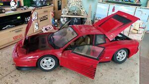 Ferrari Testarossa 1:8 Pocher Gebraucht.