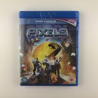 Pixels (Blu-ray, 2015) *New & Sealed*