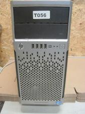 HP ProLiant ML310e Gen8 1x Xeon E3-1240V2  4x3.4GHz 32GB  DDR3  1TB PSU 350watt