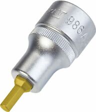 HAZET Screwdriver socket 986A-3/16 Square, hollow 12.5 mm (1/2 inch) Inside