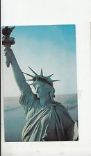 BF17856  statue of liberty new york city  USA  front/back image