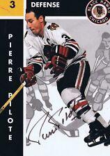 Pierre Pilote 1995 Parkhurst '66 Autograph #34 Bruins