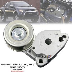 NEW Belt Tensioner Bearing Pulley For Mitsubishi Triton ML MN 2.5L Diesel 05-14