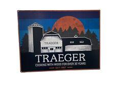 Traeger Metal Sign
