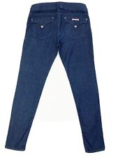 Hudson Jeans 30 Blue Jeggings Skinny Stretch Collin Flap Soft Pockets Trousers