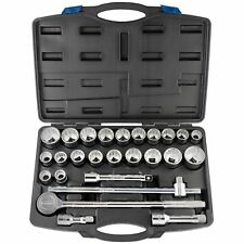 Draper 3/4'' Square Drive Socket Set 26 Piece, Model 48329
