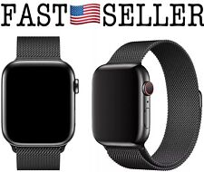 Apple Watch Band, Milanese Magnetic Loop 42mm, Black - NEW! FAST!