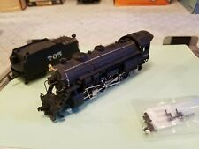 HO Scale Bachmann  0651 AT & SF #705  2-8-0 Consolidation Santa Fe Locomotive