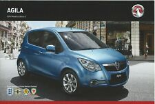 VAUXHALL AGILA 2014 MODELS BROCHURE EDITION No2. VM1310830 01.14 [UK]