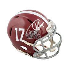 Derrick Henry Autographed Alabama Crimson Tide Mini Football Helmet - JSA COA