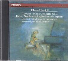 Clara Haskil - Chopin: Piano Concerto No. 2 / Falla: Noches en los Jardines CD