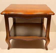 Ethan Allen Country French Two Tier Side End Table 26-8304