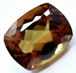 Extremely Rare Natural DIASPORE 19.30 Ct Color Change Cushion Cut CERTIFIED Gem
