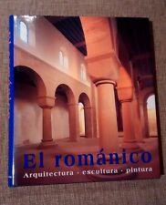 EL ROMANICO. Arquitectura, escultura, pintura. Libro de gran formato Könemann
