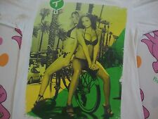 Tits Brand two in the shirt sexy bikini girls on bicycle cholo T shirt Men's S