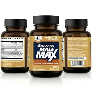 Ageless Male Max Testosterone Booster by New Vitality - 60 Caplets FREE Shipping