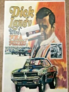DICK LANDY POSTER 11 X 17 INCHES