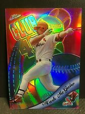 MARK MCGWIRE 1999 Topps Chrome All-Etch REFRACTOR Card #AE1 Cardinals