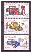 MONACO . N° 2276/2278 .3 VALEURS   AUTOMOBILES     NEUVES  **. SUPERBE