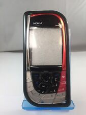 Genuine Nokia 7610 Replacement Housing With Keyboard Black&Red Front Cover