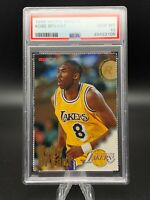 "1996 NBA Hoops Sheets KOBE BRYANT Rookie RC HOF PSA 10 GEM MINT ""POP 132'"