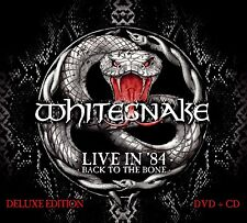 Whitesnake 'Live In 1984 - Back To The Bone' Deluxe Edition (New CD+DVD)