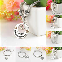 Charm Fashion Gifts Women Bangle Bracelet Jewelry Family Daughter Sister Friends