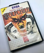 Wolfchild for SEGA Master System. Australian Release. PAL. Wolf child